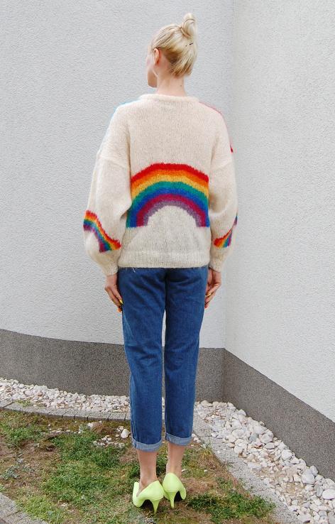 kolorowy-sweter-vintae