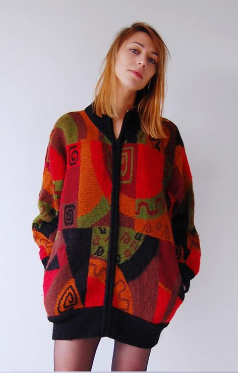 kolorowy-sweter-z-suwakiem-lata-90