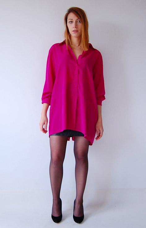 rozowa-dluga-koszula-vintage-retro