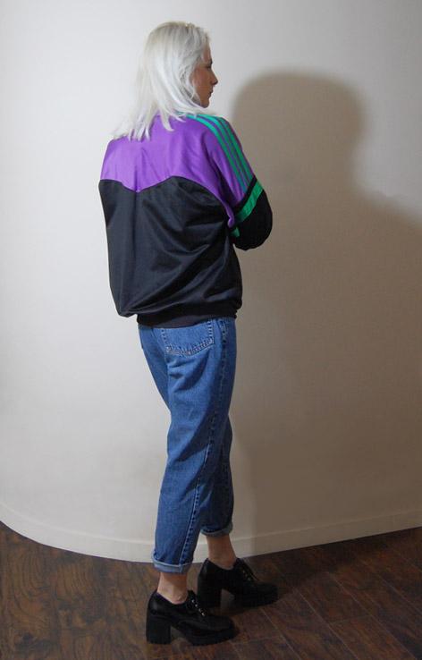 bluza-adidas-czarno-fioletowa-3-paski