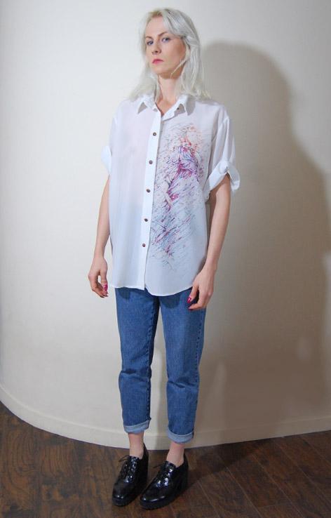bluzka-biala-obraz-venus-vintage