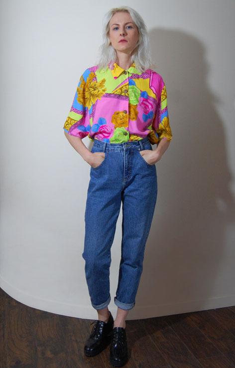 kolorowa-koszula-versace-vintage