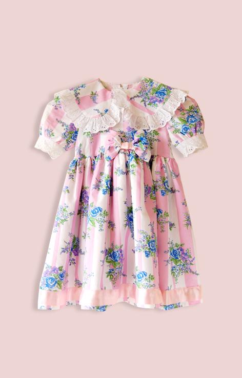 sukienka kwiatowa rozowa
